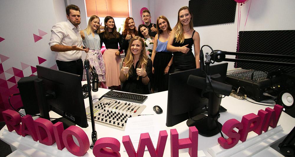 Atklāta Radio SWH Spin studija Liepājā!