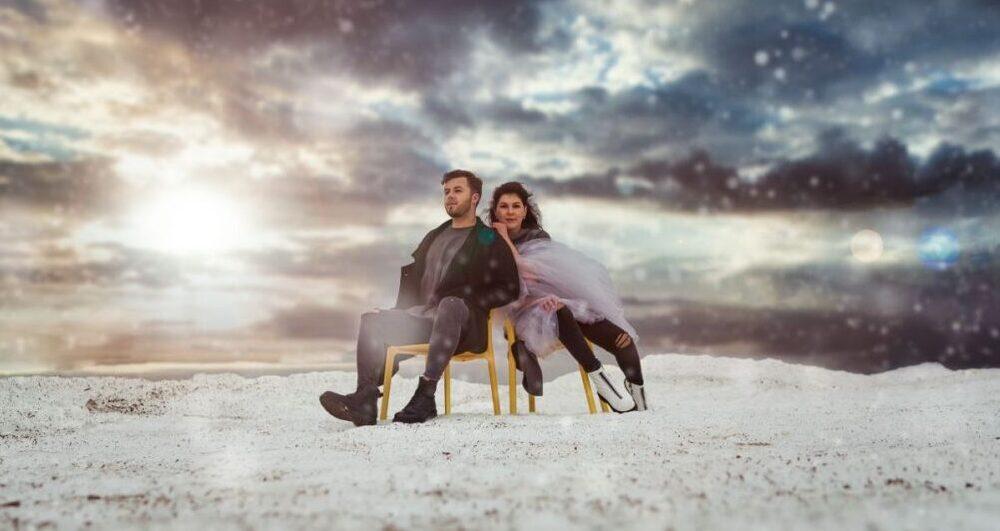 "Rūta Dūduma un Toms Kalderauskis laiž klajā dziesmu ""Plūdi"""